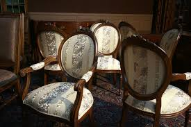 Dining Chair Fabric Upholstery Service For Fully Uphostered Chairs