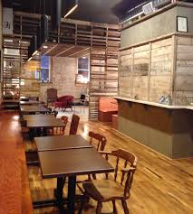 reclaimed and revitalized the french press coffee shop downtown