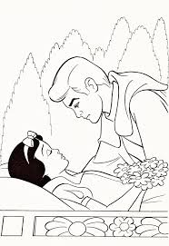 disney princess coloring pages snow white prince coloring