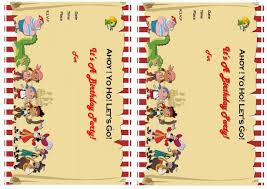 caillou birthday invitations jake and the never land pirates birthday invitations u2013 birthday