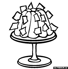 bizarre food online coloring pages page 1