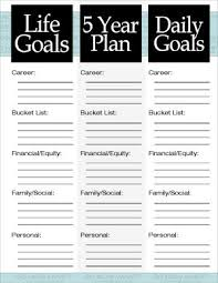 the 3 steps to a 5 year plan 5 year plan 5 years and printable
