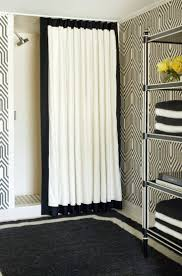 bathroom curtain ideas for shower furniture shower curtain with a ceiling track system by tobi