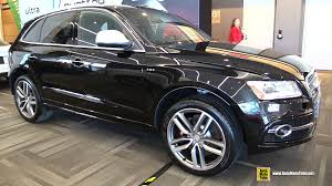 audi sq5 2015 2015 audi sq5 tfsi quattro exterior and interior walkaround
