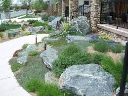 J S Landscaping by Sublime Garden Design In Snohomish Wa Hillside Boulders Blue Ridge