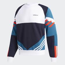 adidas sweater adidas chop shop sweatshirt blue adidas us