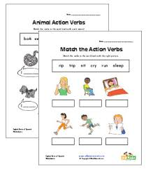 verb worksheets all kids network