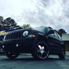 jeep patriot black rims rimtyme custom wheels u0026 tires