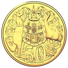 50th anniversary gold plate 2016 50th anniversary of decimal currency gold plated 50 cent open day