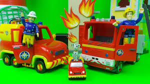 fireman sam vintage simba fire rescue tower episode