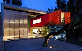 shipping container tag archdaily