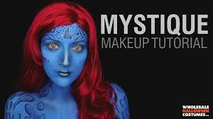 Mystique Halloween Costume Mystique Makeup Tutorial Wholesale Halloween Costumes Blog