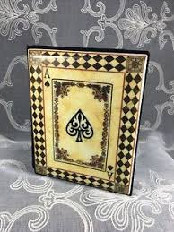 photo album book 4x6 ace of spades card tile cover photo album book 4x6 inch photos