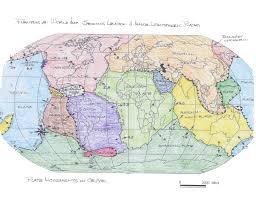 Plate Tectonics Map Geology 101 Deserts U0026 Wind Illustrations