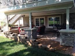 Best Backyard Decks And Patios Impressive Patio Under Deck With 25 Best Ideas About Patio Under