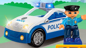 cars cartoons the police car and the tow truck service