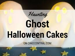 ghost cakes halloween top ghost cakes cakecentral com