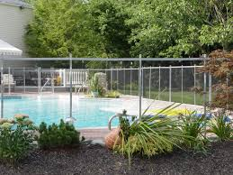 pool fence ideas pool fence ideas landscape modern with alle