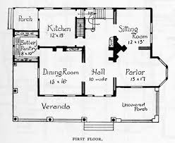 100 historic home floor plans 100 historic farmhouse floor