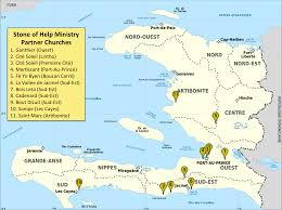 Biblical Map Supporting Haiti Churches With Discipleship And Bible Training