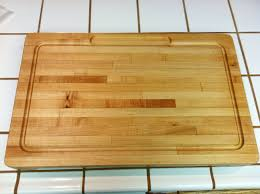ana white huge butcher block cutting board my very first build