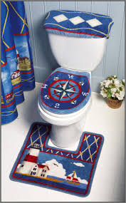 Bathroom Shower Curtain And Rug Set by Ravishing Nautical Themed Bathroom Bathroom Nautical Hand Towels