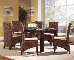 Dining Room Chair Styles Dining Room Also Wicker Dining Wow Kitchensets Rattan