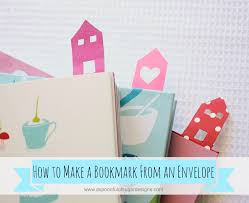 Make An Envelope How To Make A Bookmark A Spoonful Of Sugar