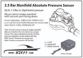 Gm Map Sensor 2 5 Bar Map Sensor Nzefi Performance Tuning And Development