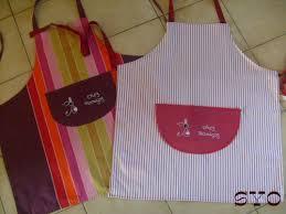 tuto tablier cuisine tablier de cuisine brodé de mamigoz et patron chez mamigoz