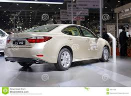 lexus toyota car toyota lexus es 250 car rear view editorial stock image image
