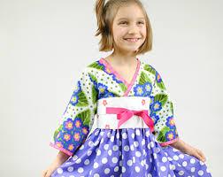 girls kimono dress girls dresses children clothing toddler