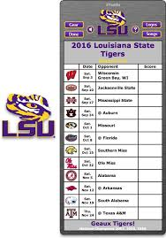 best 25 lsu football schedule ideas on lsu
