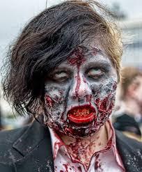 file zombie costume portrait jpg wikimedia commons