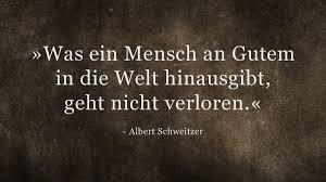 www trauersprüche de albert schweitzer