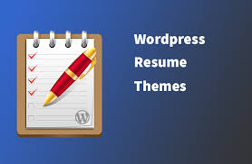 Wordpress Resume Theme Vcard Wordpress Themes To Spike Up Your Online Resume