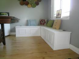 Kitchen Table With Bench Storage Dining Rooms - Bench tables for kitchen