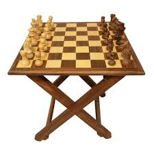 Fancy Chess Boards Saaga U0027s Chess Table With Coins Sw 088 Chess Boards Homeshop18