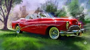 old cars drawings classic car paintings vintage cars birthday pinterest car