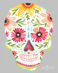 Sugar Skull Decoration — Crafthubs
