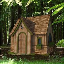 storybook playhouse plan backyard playhouse ideas and plans