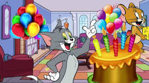 tom jerry cartoon happy birthday song kids song nursery