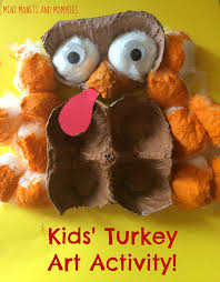 thanksgiving child activities mini monets and mommies 3 d thanksgiving turkey craft for kids