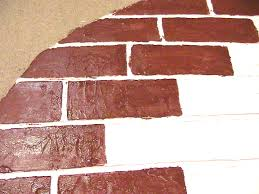Painting A Wall To Look Like Brick Interior Simple And Neat Picture Of Home Interior Decoration