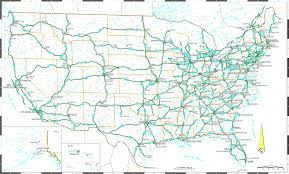 Map Of United States With Interstate Highways by United States Interstate Highway Map Us Road Map Of Usa
