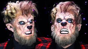 Halloween Werewolf Makeup Werewolf Makeup Halloween Tutorial 31 Days Of Halloween Youtube