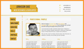 8 resume website examples bird drawing easy