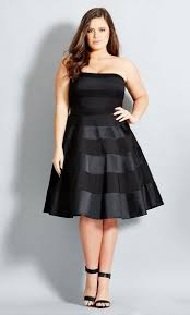 look fabulous in plus size cocktail dress
