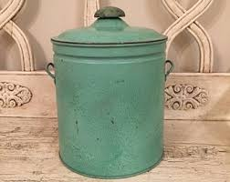 green canisters kitchen mint green canisters etsy