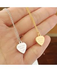 custom engraved pendant new shopping special custom engraved necklace engraved heart